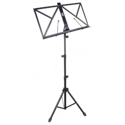 TGI MS20BK Sheet Music Stand Black with Carry Bag